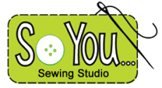 So You…Sewing & Design School Retina Logo