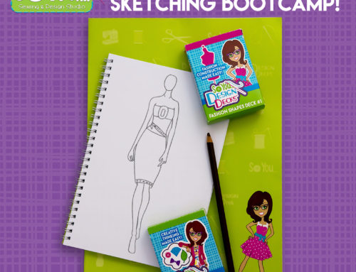 Sew You Fashion Design Bootcamp is coming to Maker Depot!