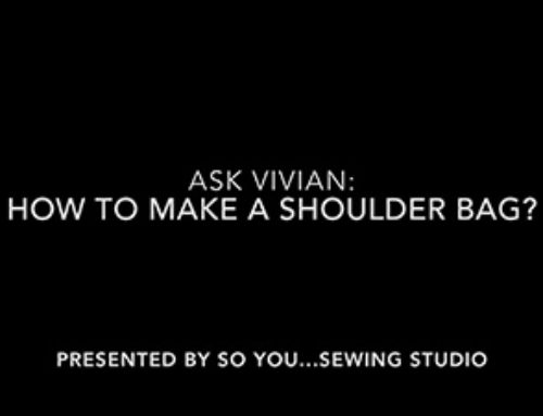 Ask Vivian: How to Make a Small Shoulder Bag