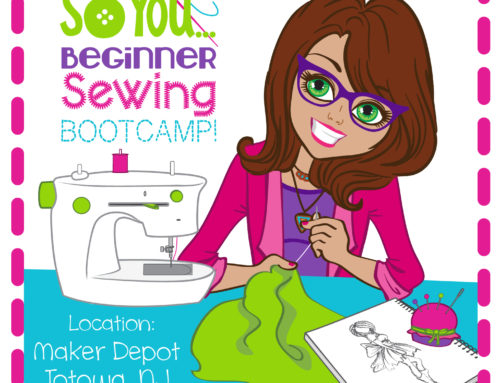 So You Beginner Sewing Bootcamp (ages 8-12) Jan. 20